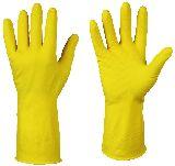 Перчатки хозяйственные с ворсом