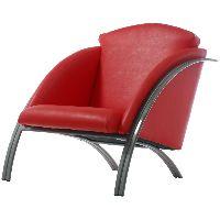 Кресло Авокадо (иск.кожа,2 кат. №9) ЦВЕТ - светлосерый