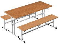 Стол для столовой 4-местный для скамеек