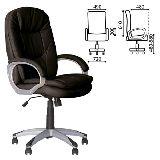 Кресло BONN ECO-30 черное