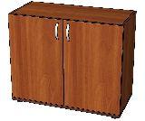 Секция шкафа низкая закрытая 877х415х727мм